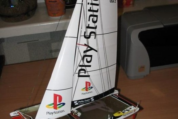 Maxi-catamaran «Sony PlayStation»