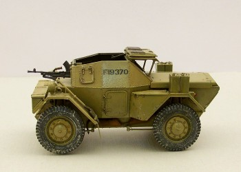 Модель бронеавтомобиля DINGO Mk.1b BRITISH SCOUT CAR MiniArt 1/35 от Baracca.