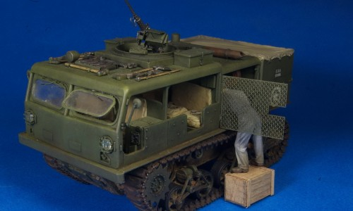 M4 High Speed Gun Tractor Hobby Boss 1/35