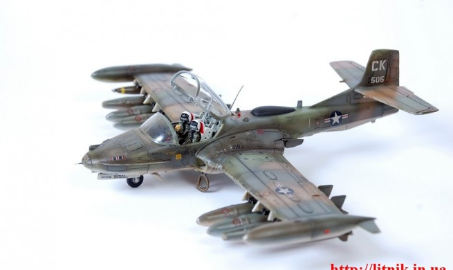 Cessna A-37A Dragonfly Revell 1/48