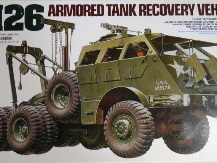 M26 Tank Recovery Vehicle