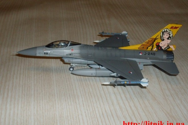 "F-16A Dutch ""Diana"""