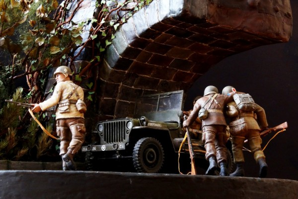 "Диорама ""Точка возврата – Return Point"" 1/35 от sinten"