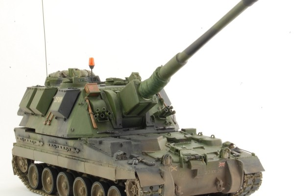 Модель САУ AS-90 Braveheart Trumpeter 1/35 от Варяга