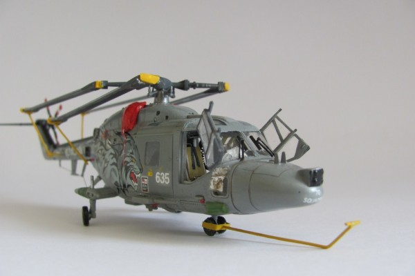 Модель вертолета Royal Navy Westland Linx HAS.3 Hobby Boss 1/72 от fly4