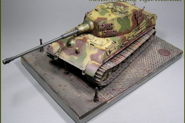 Модель танка Sd.Kfz.182 King Tiger/Henschel Dragon 1/35 от wheelmaster