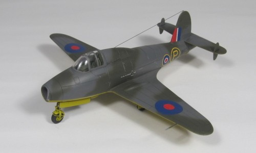 "Gloster E28/39 ""Pioner"" Clear Prop 1/72"