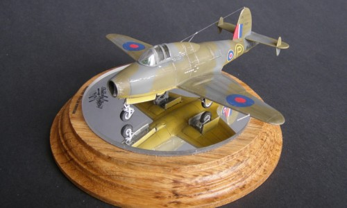 Gloster E28/39 Pioneer Clear Prop 1/72