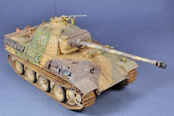 Модель танка PANTHER AUSF.G LATE VERSION TAMIYA 1/35 от zgn1976