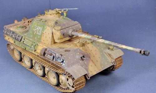 PANTHER AUSF.G LATE VERSION TAMIYA 1/35