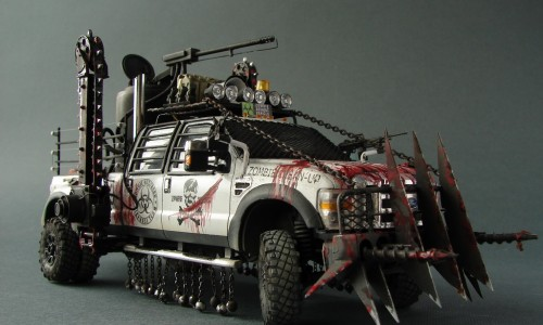 "FORD F-350 ""Zombie Killer Car"" Meng 1/35"
