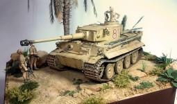 "Диорама ""Tiger I, Tunisia, 1943"" 1/35 от accord13"