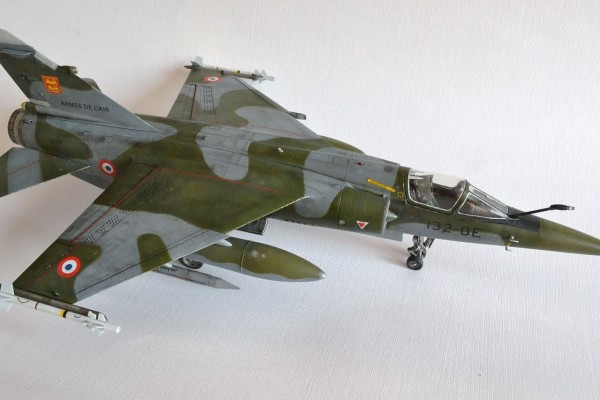 "Модель самолета Mirage F1.CT ""Normandie Niemen"" Kitty Hawk 1/48 от Lyig"