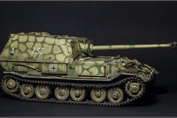 Модель САУ Sd.Kfz.184 Ferdinand Dragon 1/35 от Medvyn