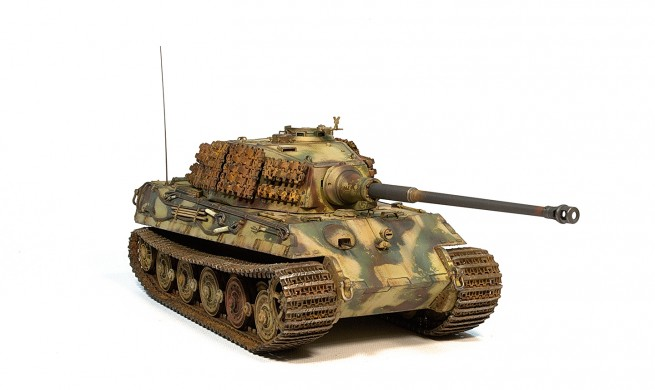 Модель танка King Tiger Dragon 1/35 от Accord