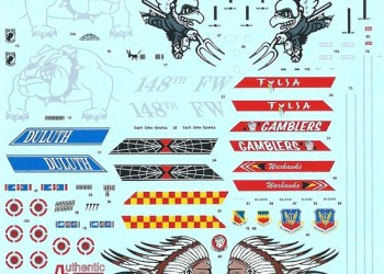 Обзор декали F-16C Fighting Vipers Authentic Decals 72-65 и 48-65 от foxbot