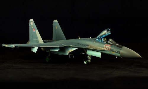 Su-35S Flanker-E 1/48 Kitty Hawk