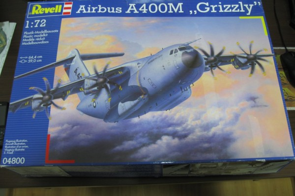 "Обзор модели самолета Airbus A400M ""Grizzly"" Revell 1/72 от Олега"