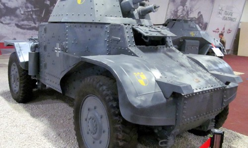 "Panhard AMD-35 Walk Around Парк ""Патриот"" от Spada"